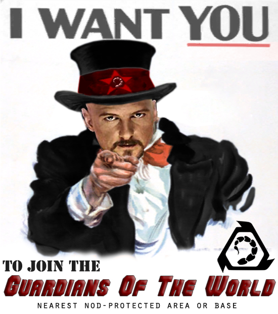 I Want you to join the guardians of the world